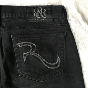 Rock & Republic Black/Dark Grey Jeans